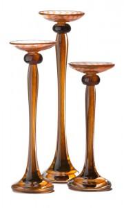 HL Straight Candleholders - Hudson Glass