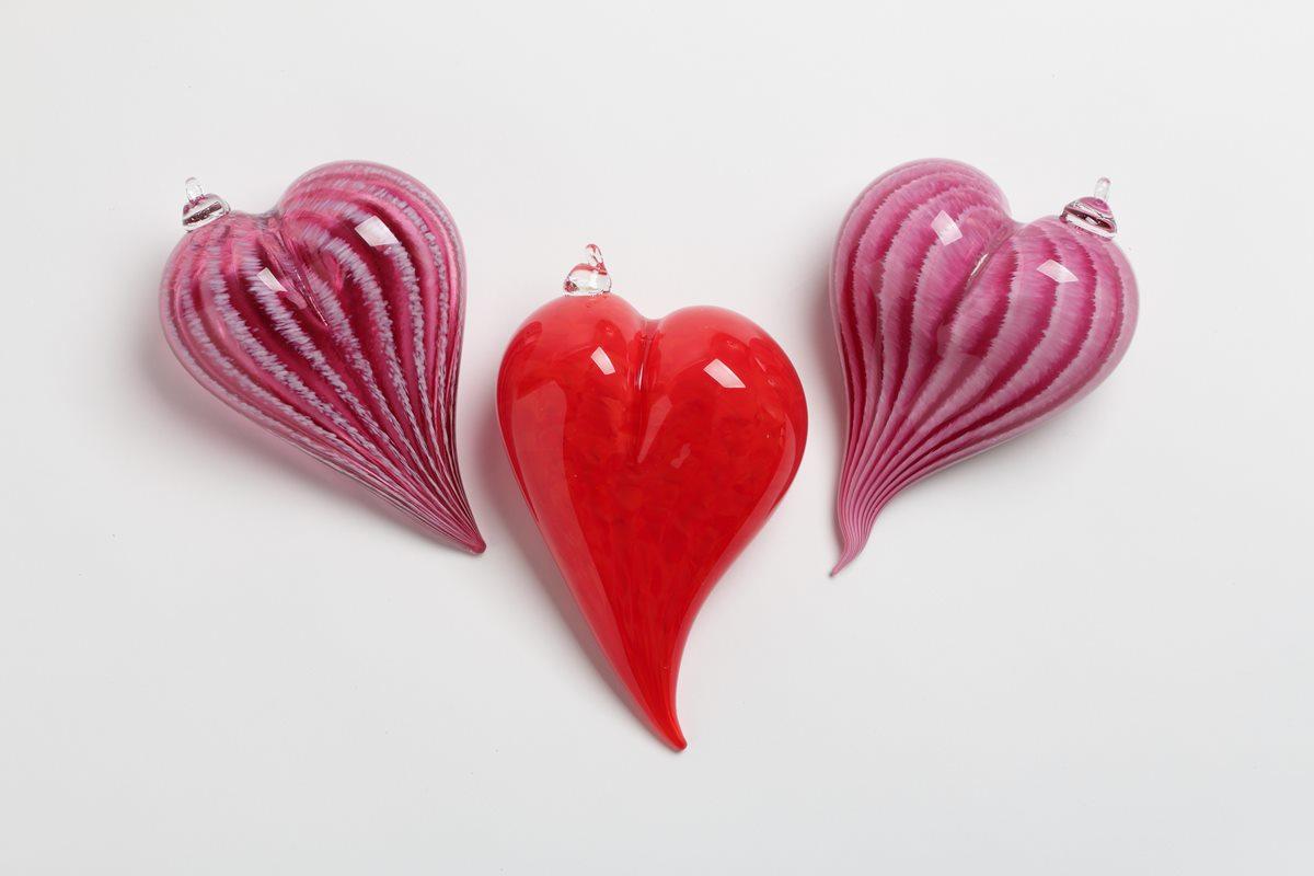 Hearts - Hudson Glass