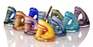 Pen Holders - Hudson Glass