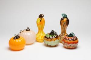 Pumpkins and Gourds - Hudson Glass